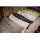 Coussin « Nobody is perfect… I am nobody »