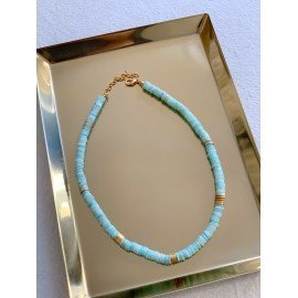 Collier ras du coup Amazonite