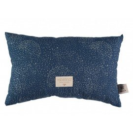 Coussin Laurel - gold bubble/ night blue