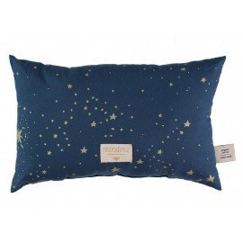 Coussin Laurel - gold stella/ night blue