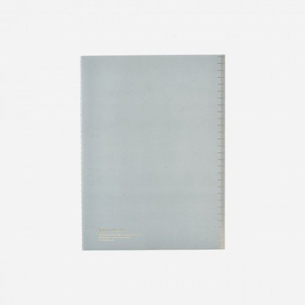 Carnet Soft - light blue -  Monograph