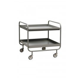 Chariot trolley gris