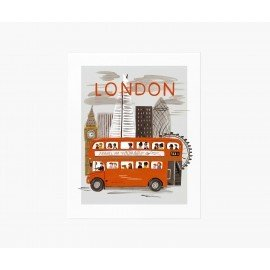 Affiche London world Traveller