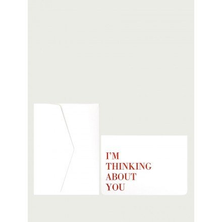 Carte I'm thinking about you