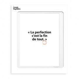 Affiche Loic Prigent - La perfection