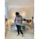 """T-Shirt  """"From Marrakech with love""""  - Gris"""