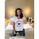 """T-Shirt """"From Marrakech with love""""  - Blanc"""