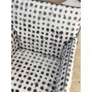 Fauteuil Ghost 24 pois cemento