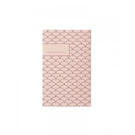 Carnet bloc note N°1 serie 1 rose blush